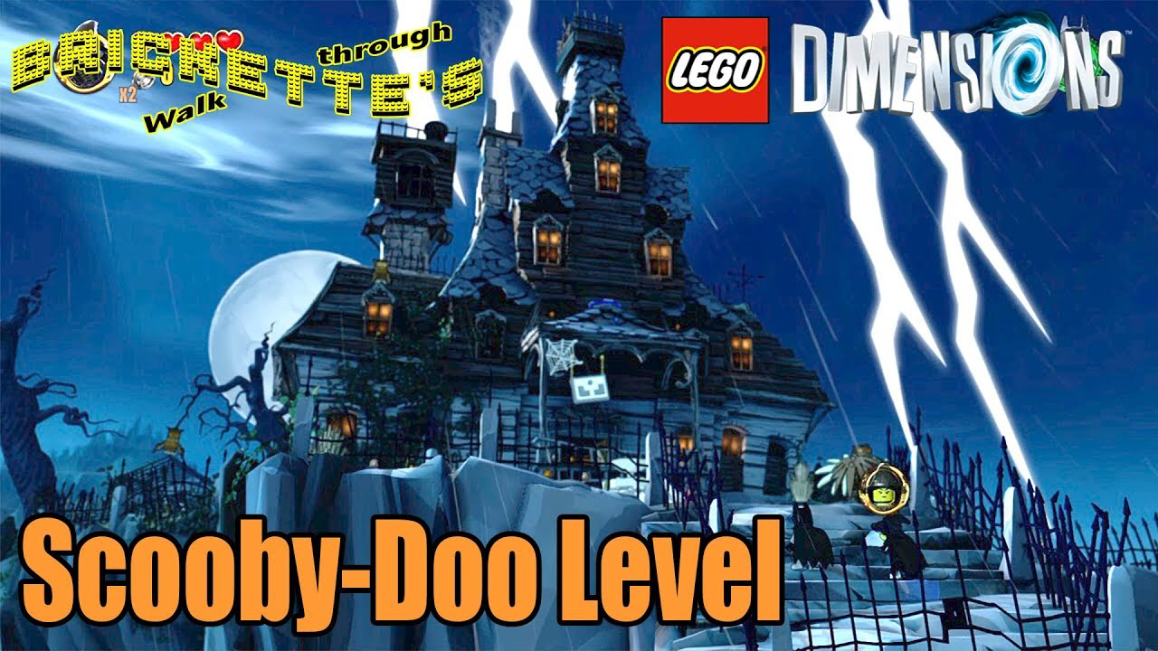 LEGO Dimensions Scooby-Doo Level