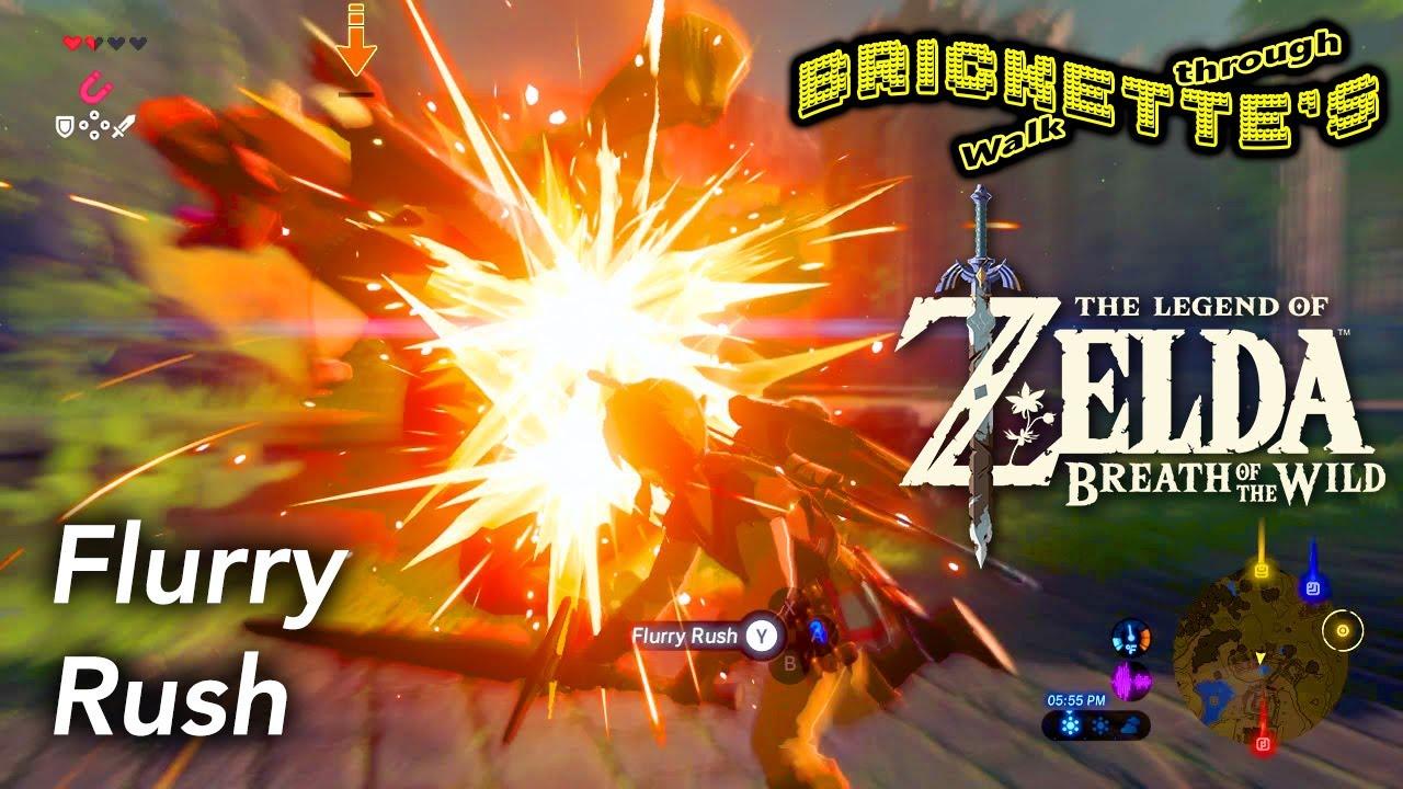 Zelda BotW - FLURRY RUSH with PERFECT DODGE