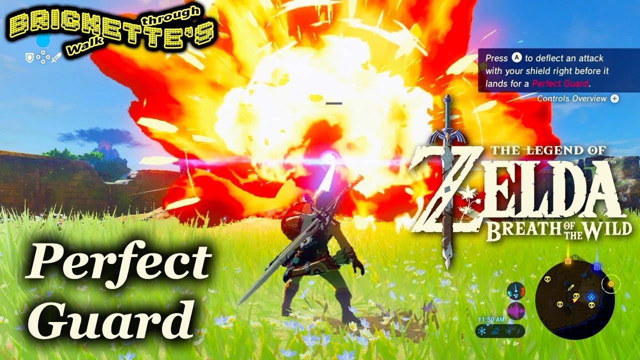Zelda BotW - PERFECT GUARD with a Pot Lid