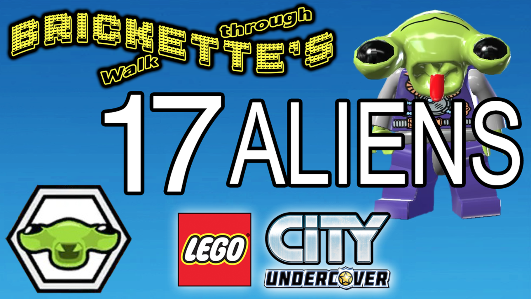 Getting All 17 ALIENS in LEGO City: Undercover