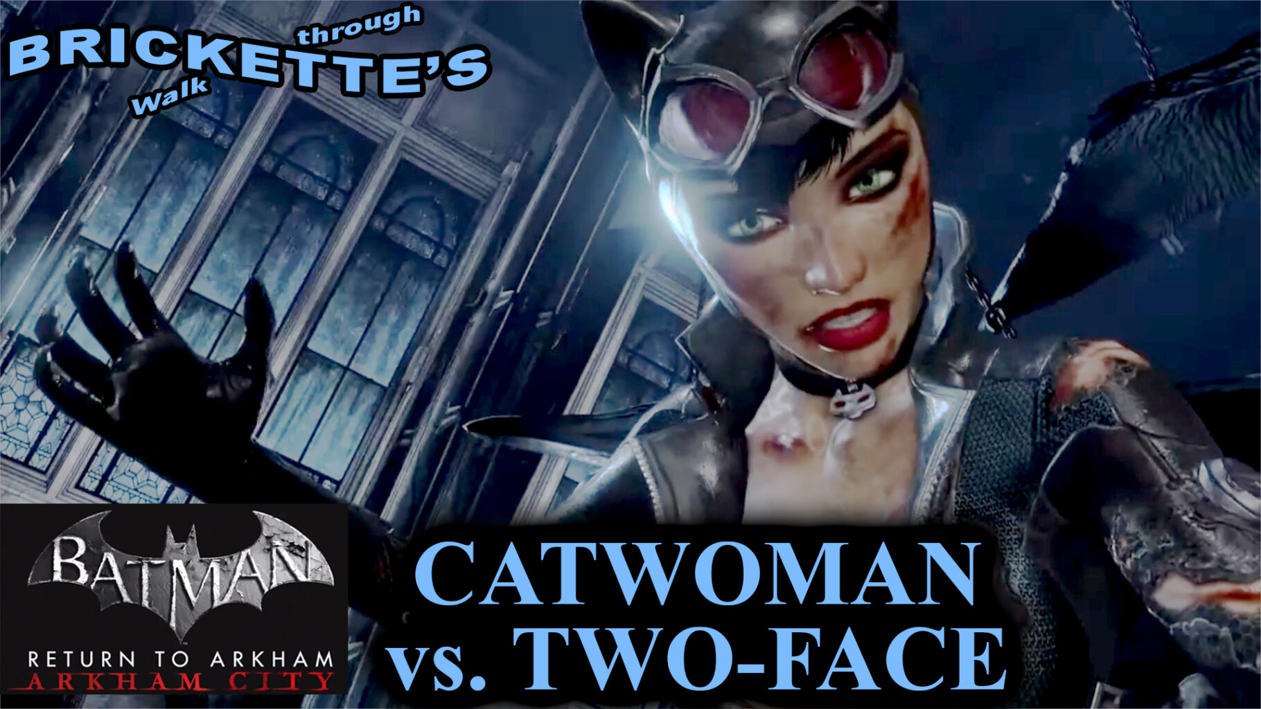 Batman Arkham City - Catwoman vs. Two-Face Boss Fight